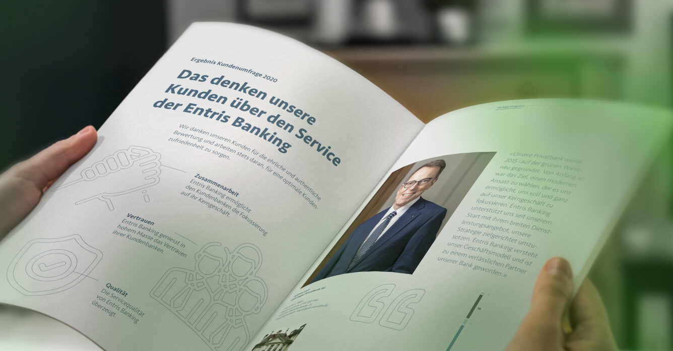 Headerbild - Entris Banking Geschäftsbericht