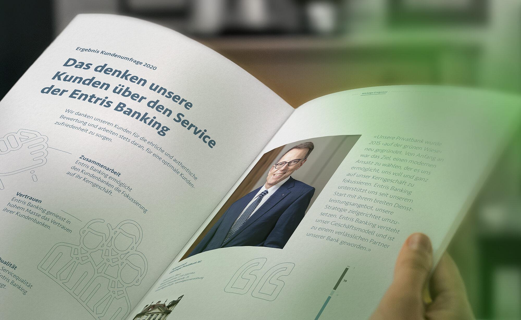 Vorschaubild - Entris Banking Geschäftsbericht