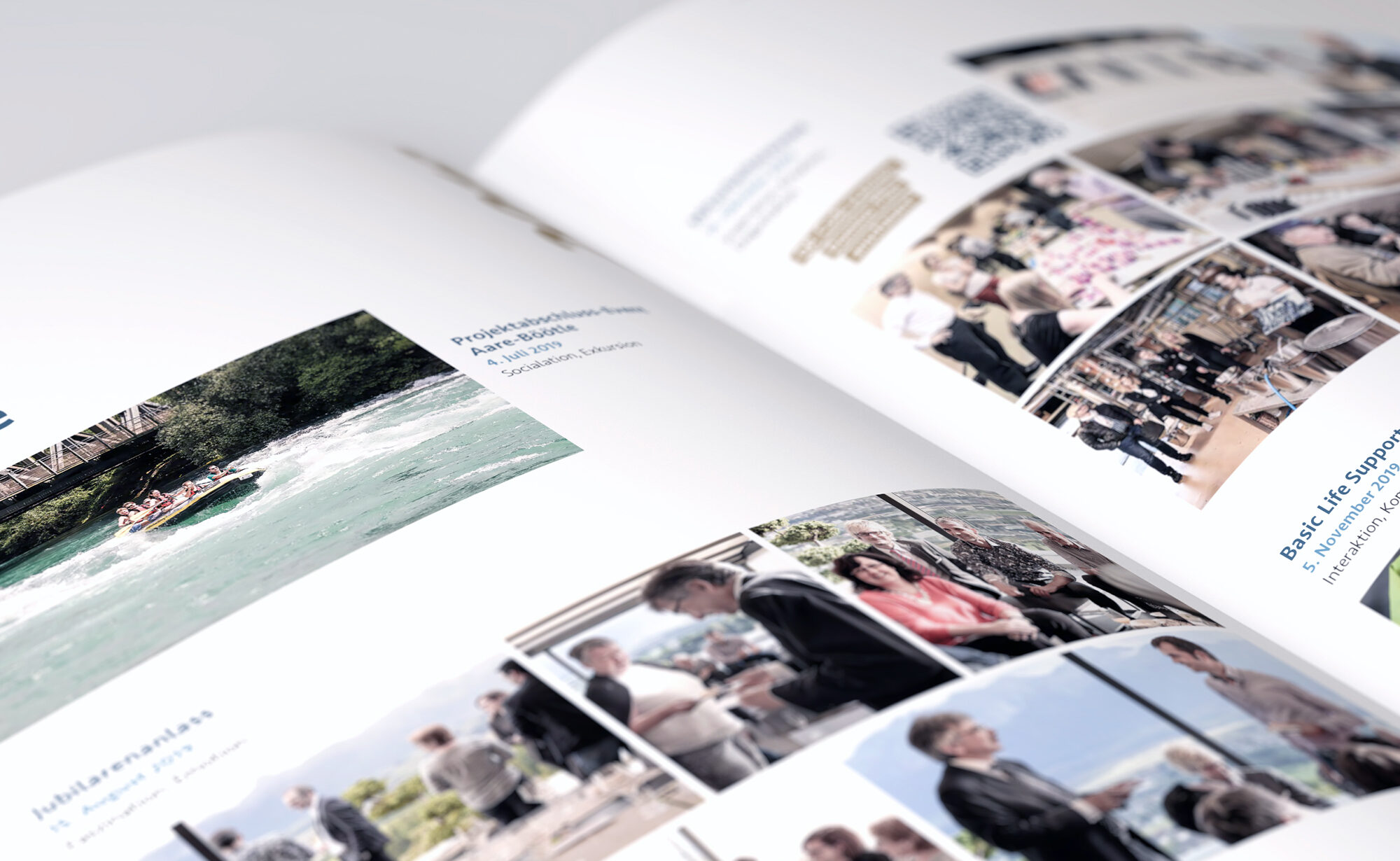 Events - Entris Banking Geschäftsbericht, Agentur Schmucki