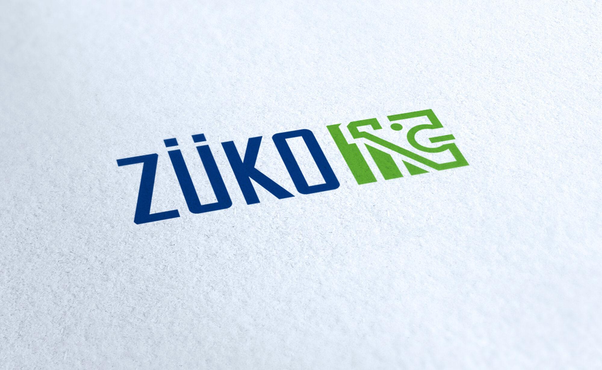ZÜKO AG Logo, ZÜKO Corporate Design