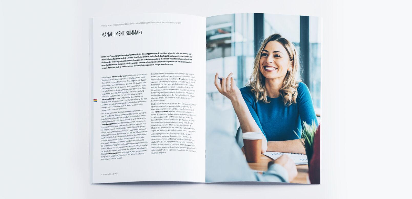 Doppelseite - Mazars, Studienbroschüre 2019