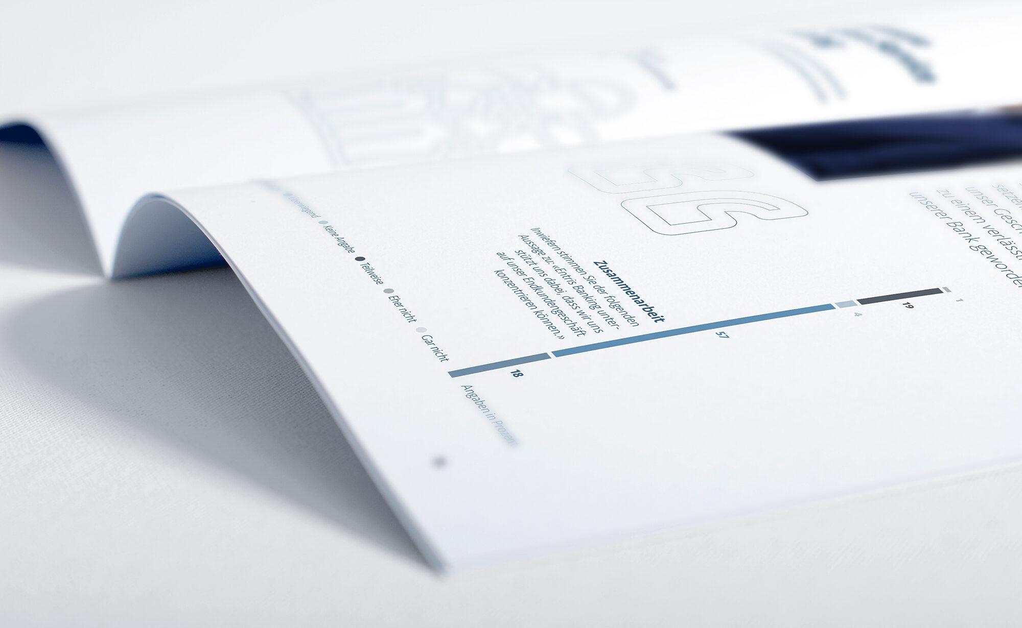 Zitate - Entris Banking Geschäftsbericht, Agentur Schmucki