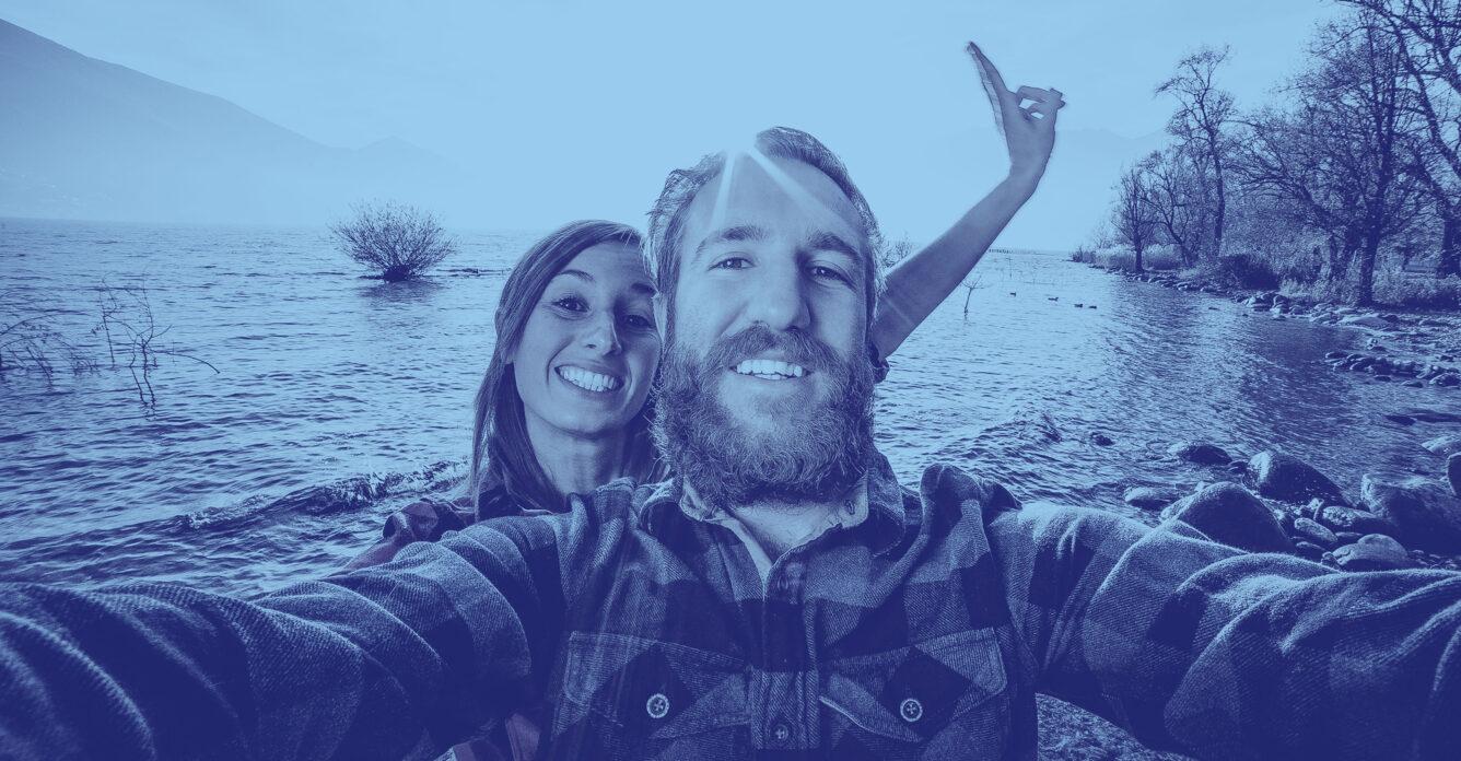 Paar Selfie - Privor Stiftung 3. Säule, privor.ch