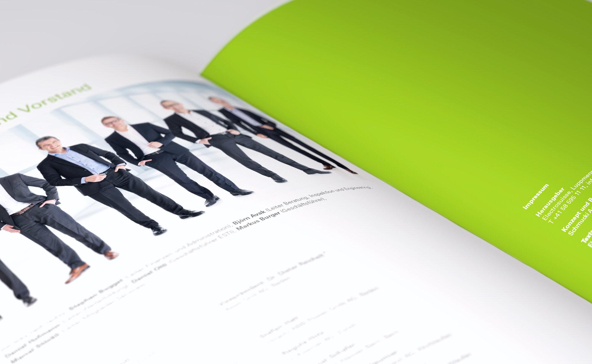 Vorstand - Electrosuisse Jahresberichte, Agentur Schmucki